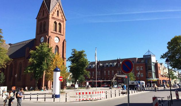 Warnemünde Kirchenplatz