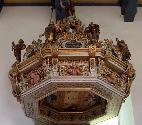 Kirche zu Petershagen - Schalldeckel
